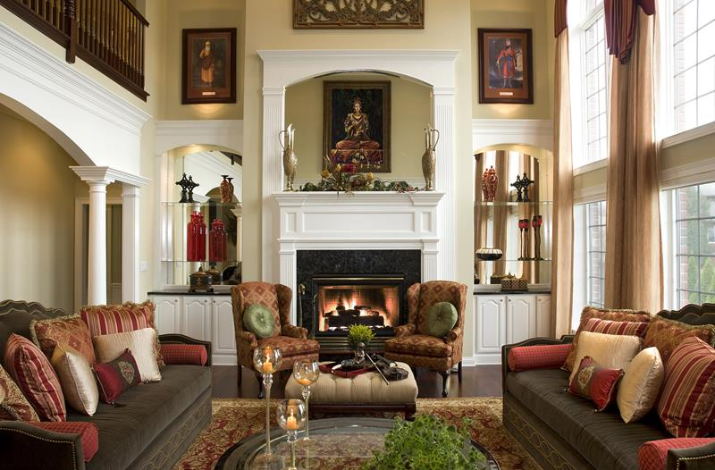 23 Living Room Designs With Fireplaces-18