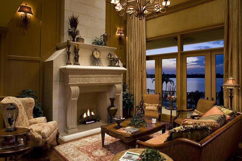 23 Living Room Designs With Fireplaces-20