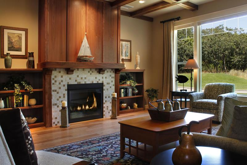 23 Living Room Designs With Fireplaces-23