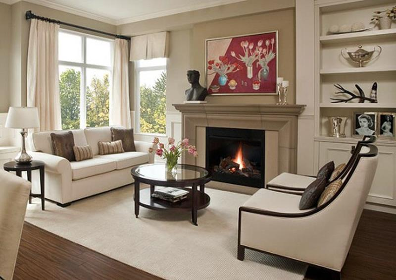 23 Living Room Designs With Fireplaces-title