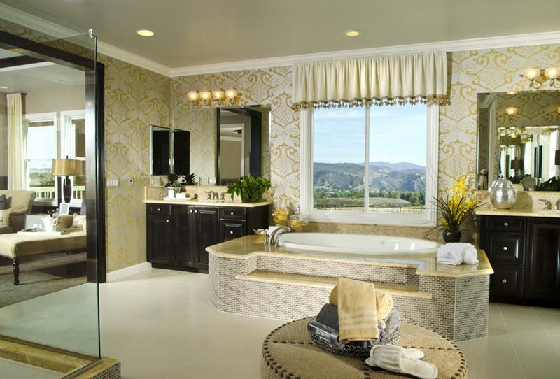 23 Master Bathrooms With Two Vanities-15
