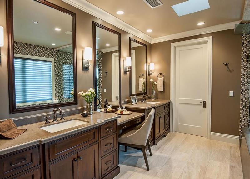 23 Master Bathrooms With Two Vanities-16