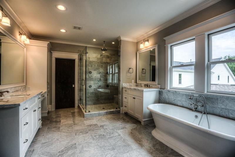 23 Master Bathrooms With Two Vanities-19