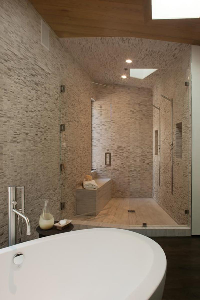 Master Bathroom with Spa