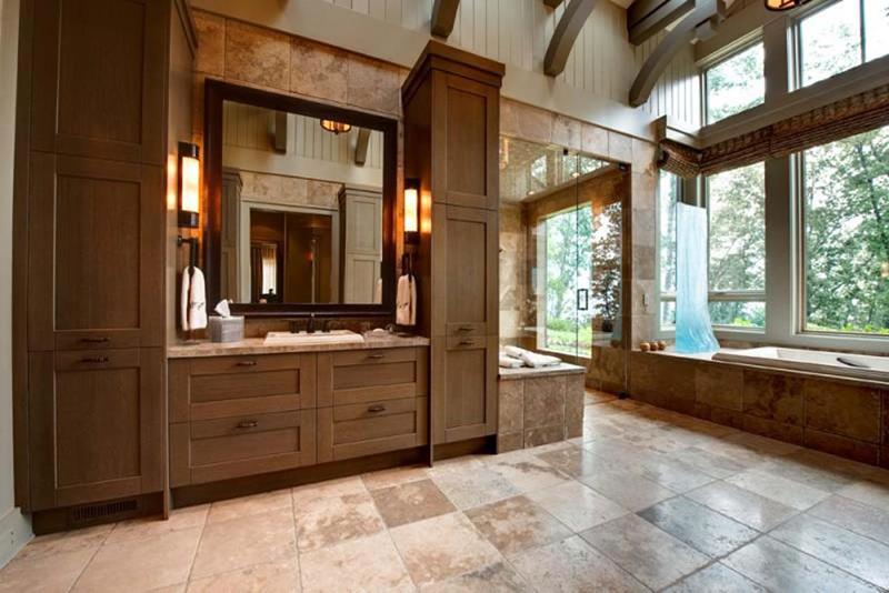 24 Beautiful Master Bathrooms-15