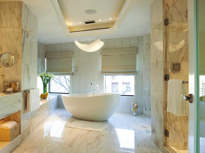 24 Beautiful Master Bathrooms-20
