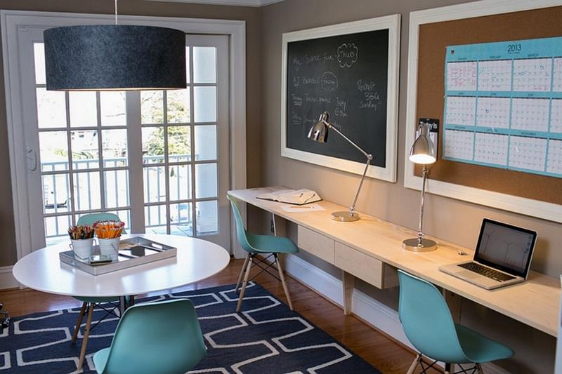 24 Functional Home Office Designs-15
