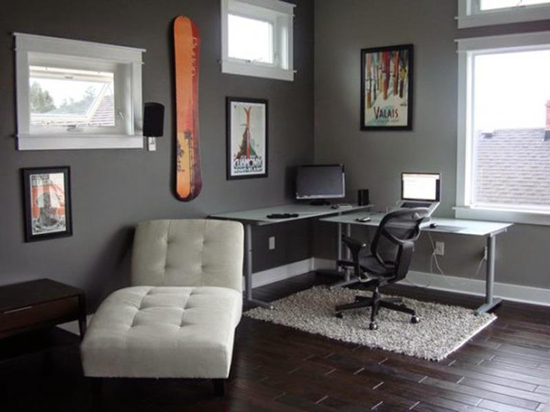24 Functional Home Office Designs-17