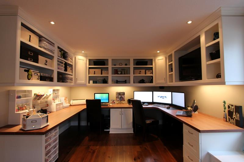 24 Functional Home Office Designs-22