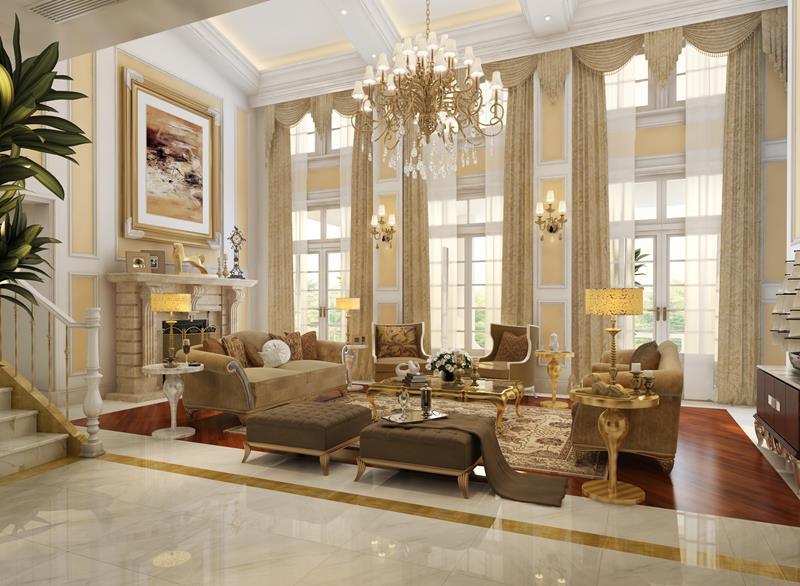 24 High Class Living Room Designs-12