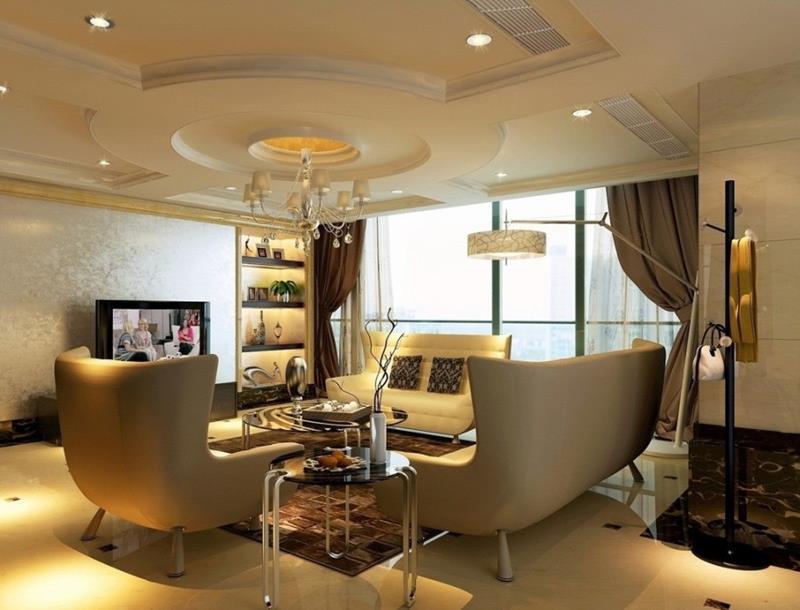 24 High Class Living Room Designs-24
