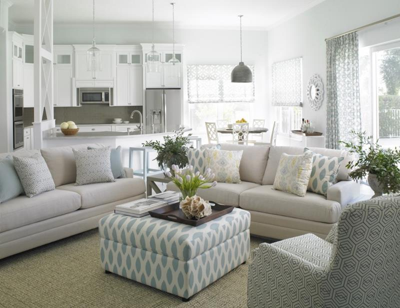 24 Large Open Concept Living Room Designs-16