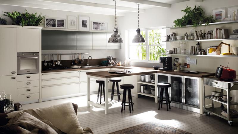25 Bright Kitchen Designs-12