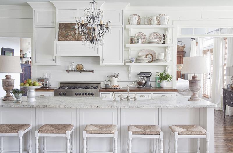 25 Bright Kitchen Designs-19