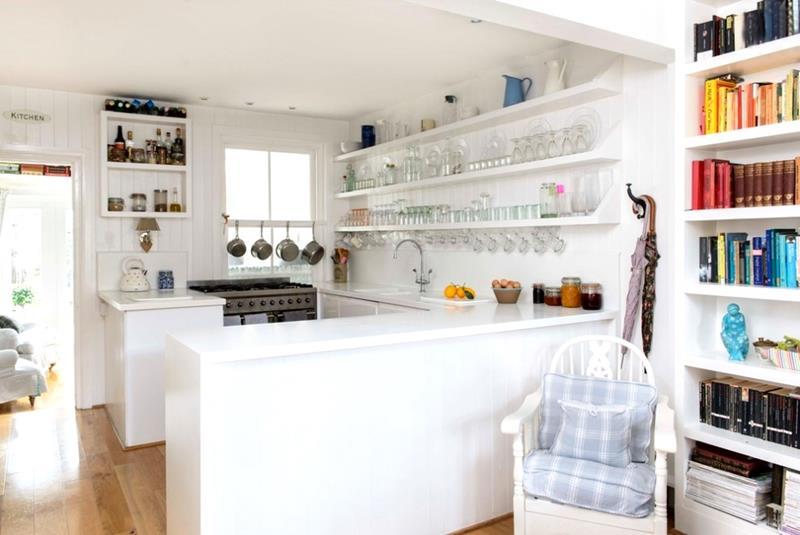 25 Bright Kitchen Designs-23