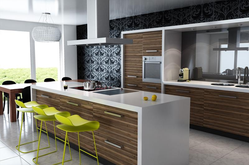 25 Bright Kitchen Designs-24