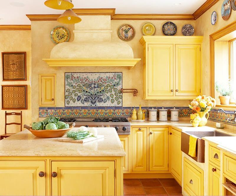 25 Bright Kitchen Designs