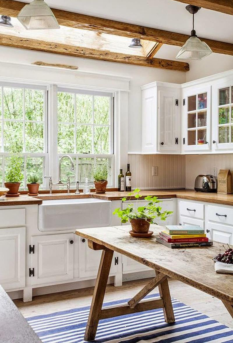 25 Farmhouse Style Kitchens-14