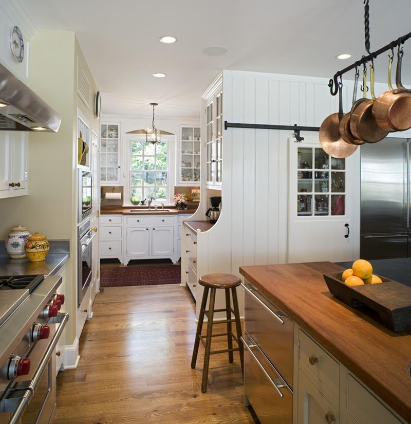 25 Farmhouse Style Kitchens-17