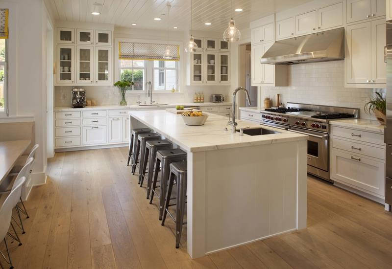 25 Farmhouse Style Kitchens-2