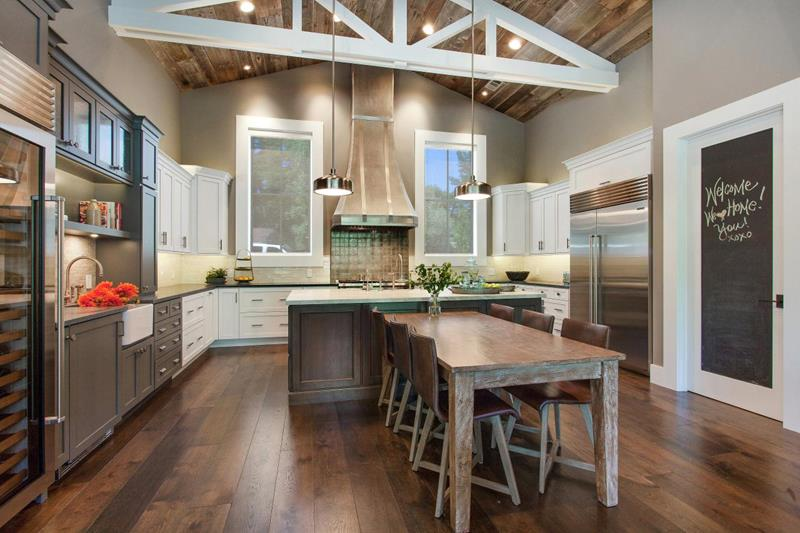 25 Farmhouse Style Kitchens-25