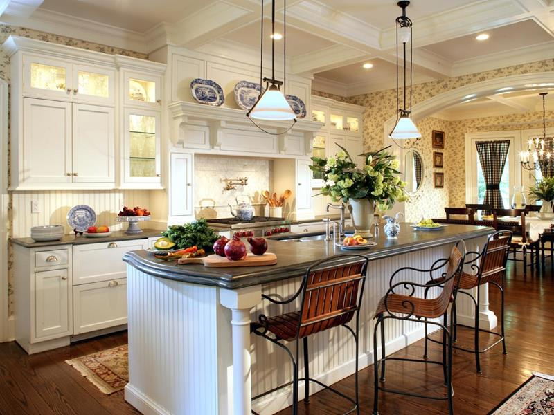 25 Farmhouse Style Kitchens-7