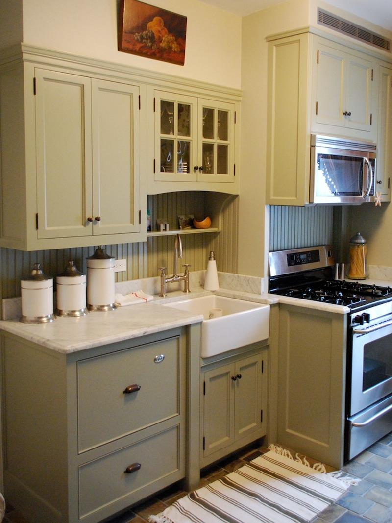 25 Farmhouse Style Kitchens-9