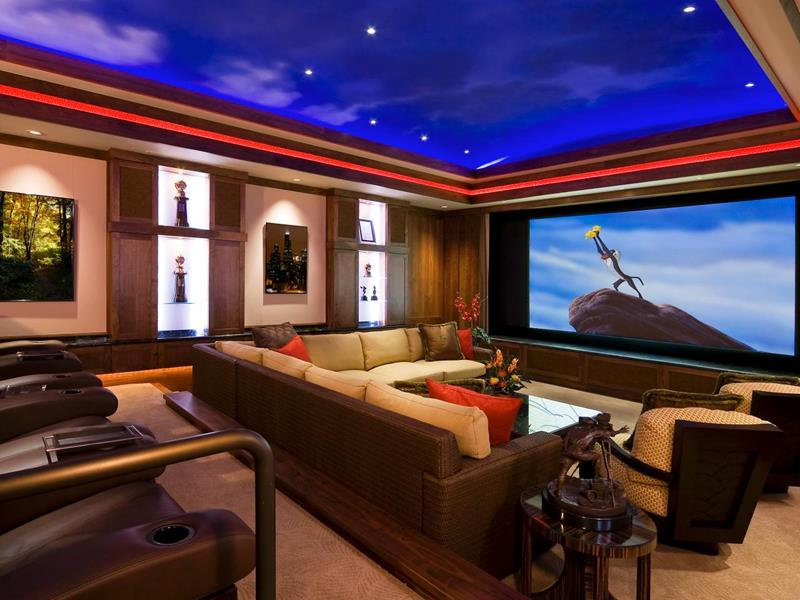 25 Jaw Dropping Home Theater Designs-1
