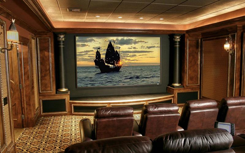 25 Jaw Dropping Home Theater Designs-15