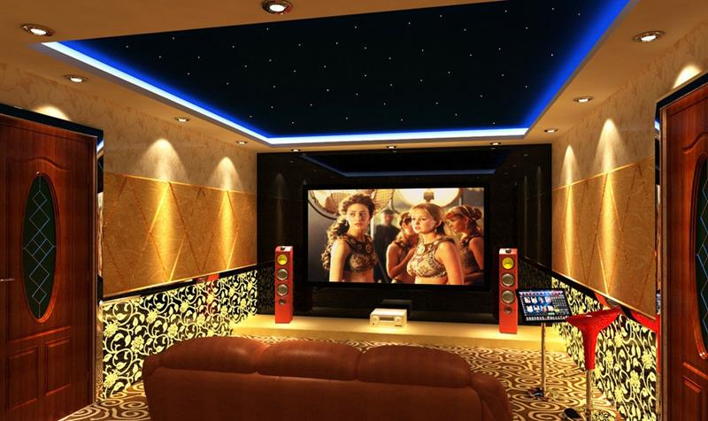 25 Jaw Dropping Home Theater Designs-22