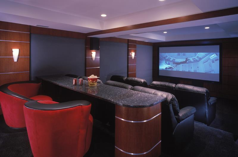 25 Jaw Dropping Home Theater Designs-5