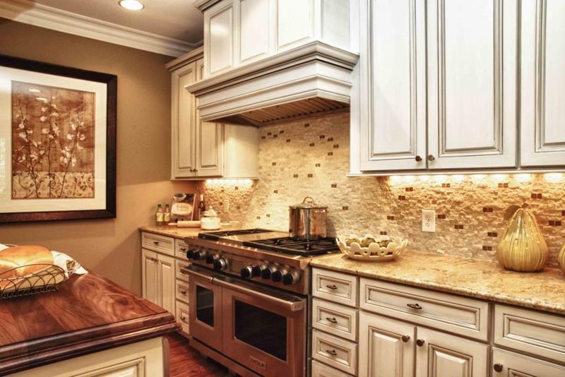 25 Kitchen Backsplash Design Ideas-14