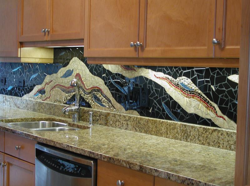 25 Kitchen Backsplash Design Ideas-6