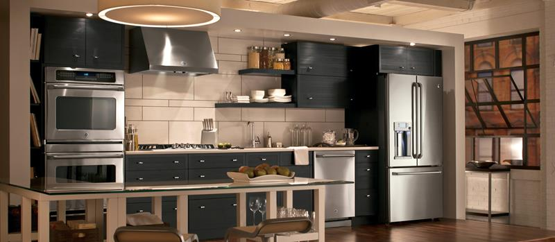 25 Kitchens With Stainless Steel Appliances-13