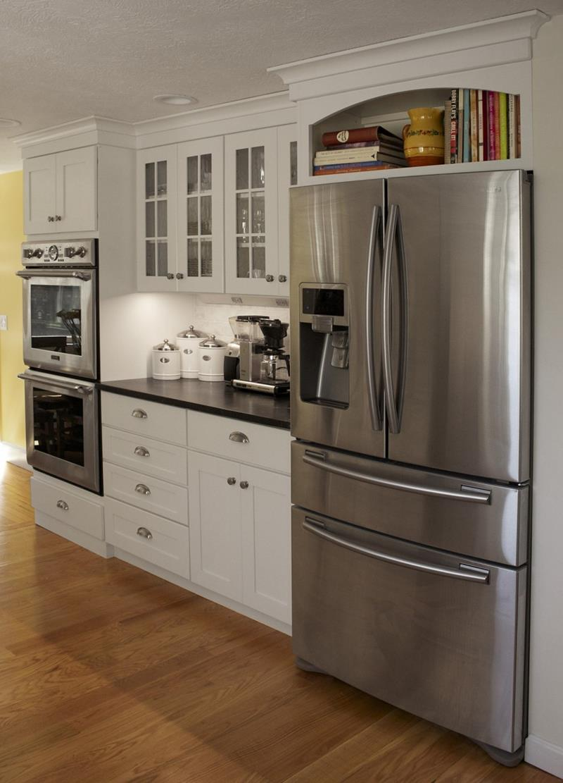 25 Kitchens With Stainless Steel Appliances-17