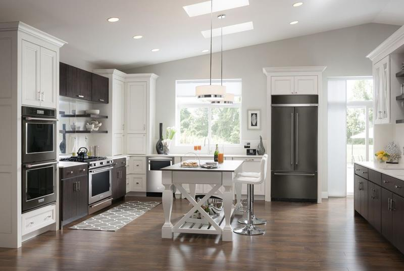 25 Kitchens With Stainless Steel Appliances-23