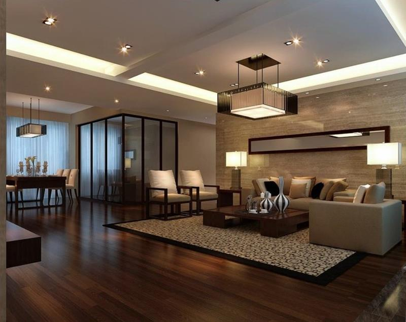 25 Living Rooms With Hardwood Floors-1