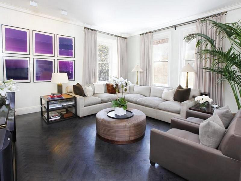 25 Living Rooms With Hardwood Floors-19