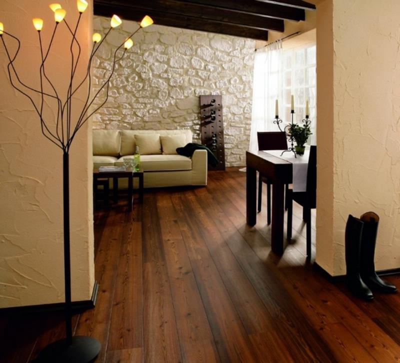 25 Living Rooms With Hardwood Floors-20