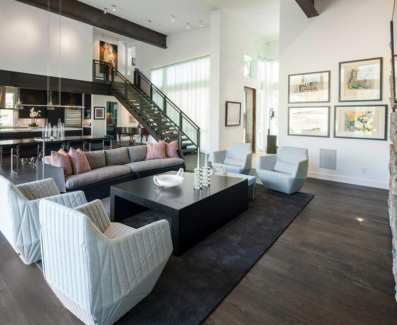 25 Living Rooms With Hardwood Floors-24