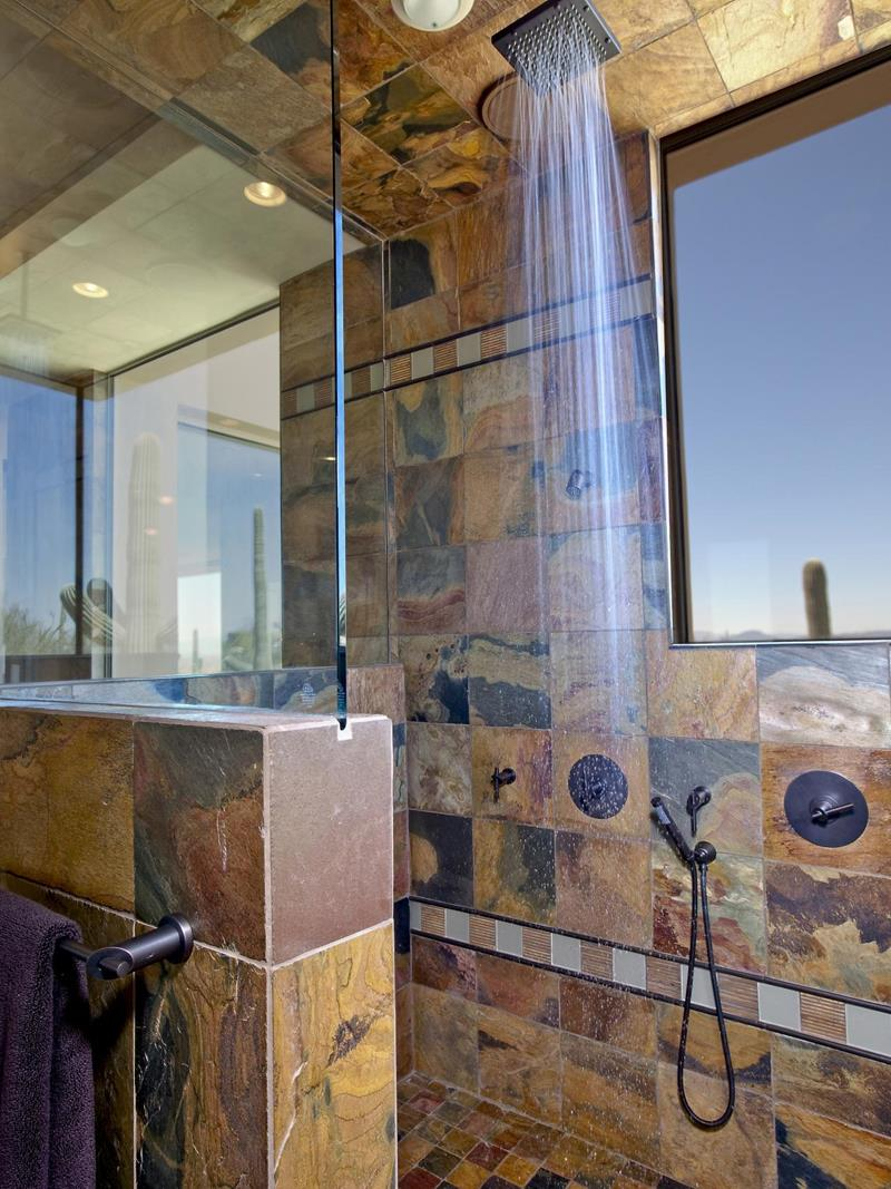 25 Luxury Walk In Showers-13