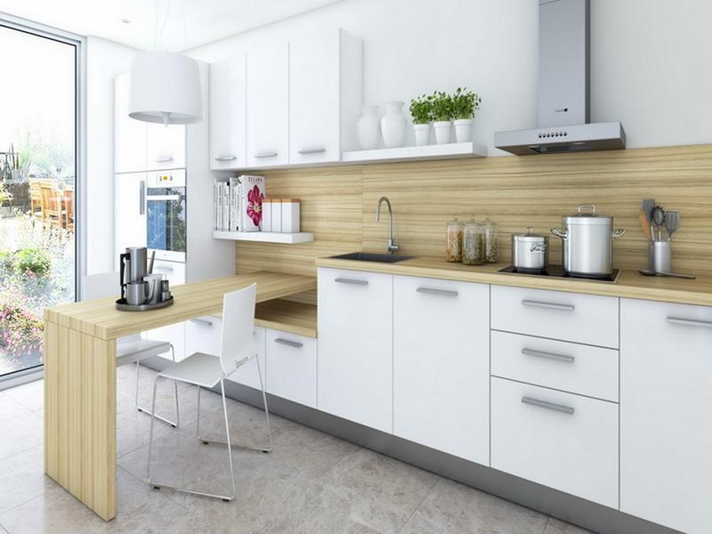 25 Stunning Kitchens with Big Windows-15