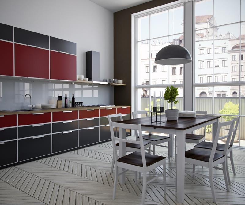 25 Stunning Kitchens with Big Windows-2