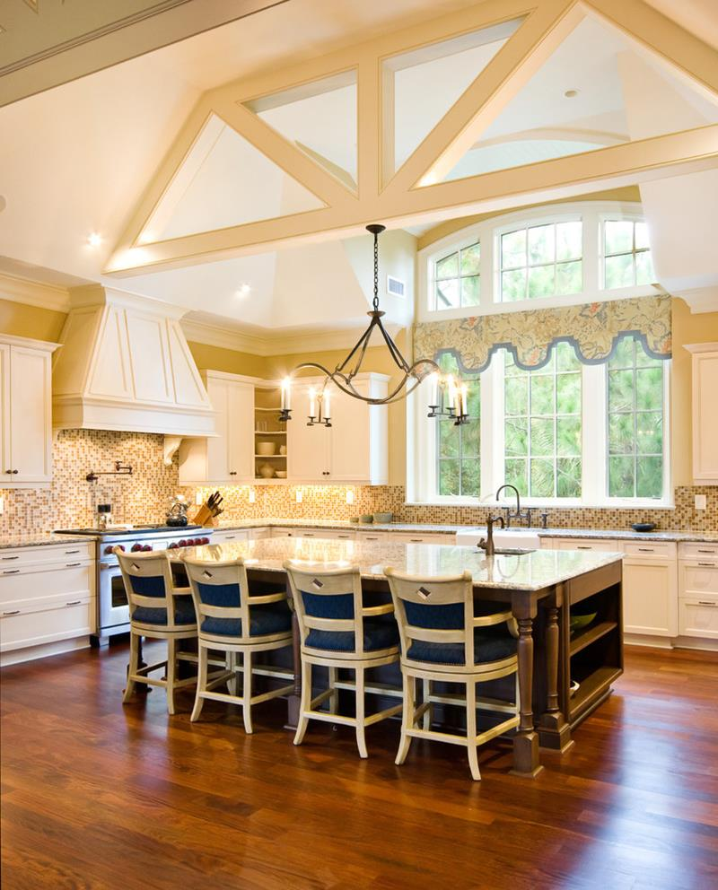 25 Stunning Kitchens with Big Windows-22