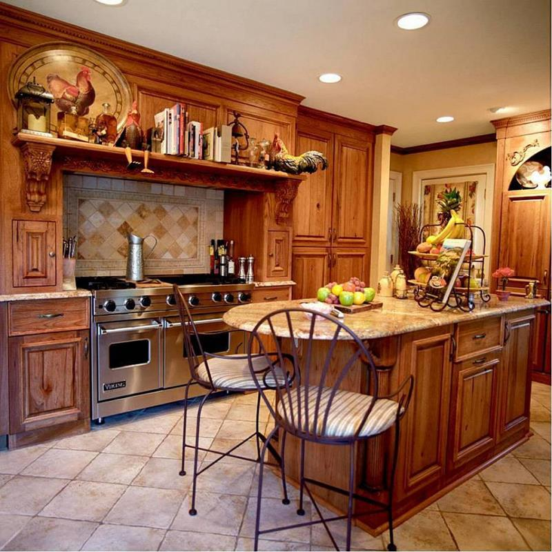 25 Windowless Kitchen Design Ideas-14