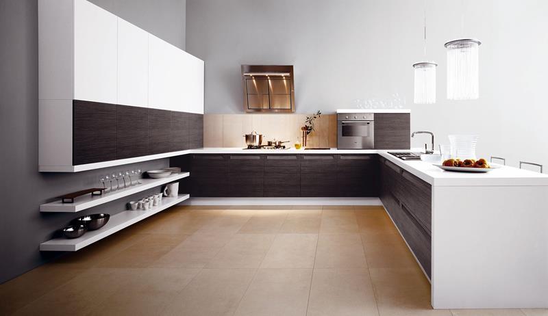 25 Windowless Kitchen Design Ideas-17