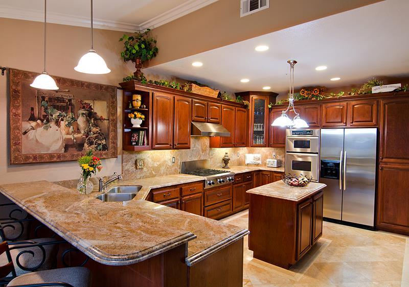25 Windowless Kitchen Design Ideas-18