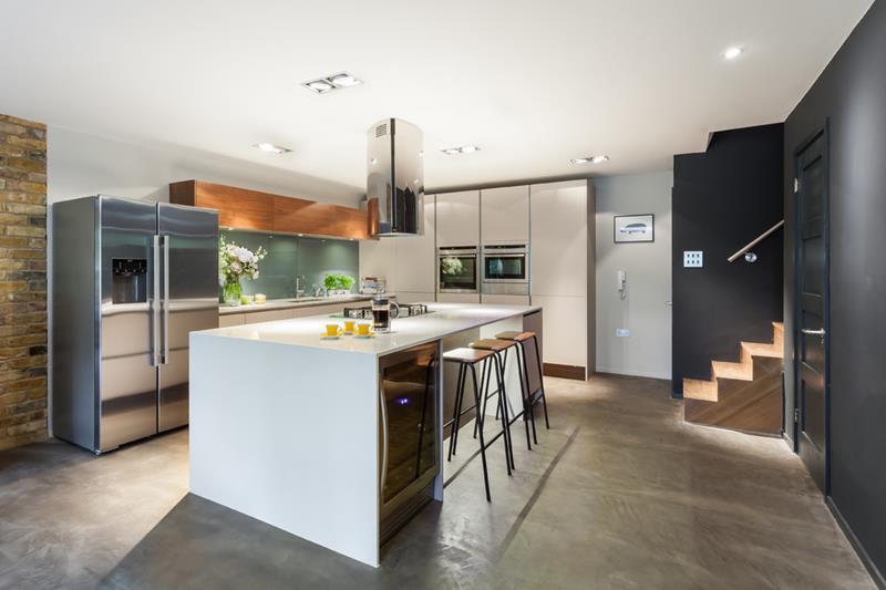 25 Windowless Kitchen Design Ideas-19
