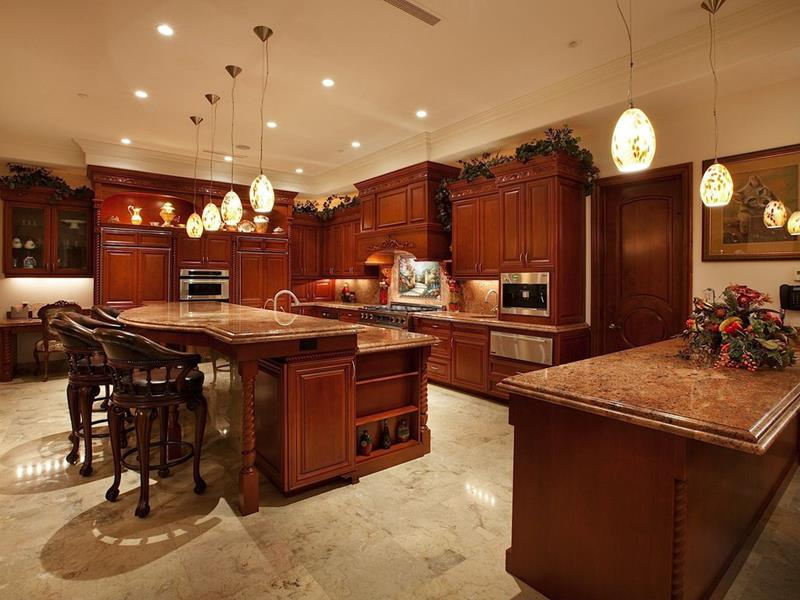 25 Windowless Kitchen Design Ideas-23