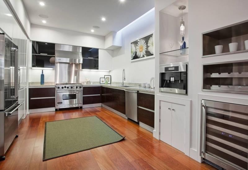 25 Windowless Kitchen Design Ideas-25